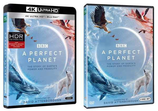 A Perfect Planet BBC 4k Blu-ray DVD 2up
