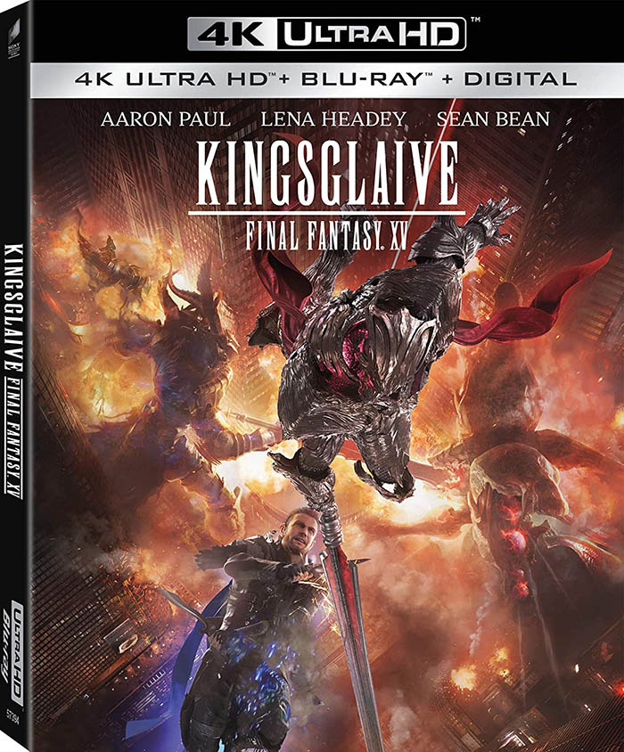 Kingsglaive- Final Fantasy XV Blu-ray