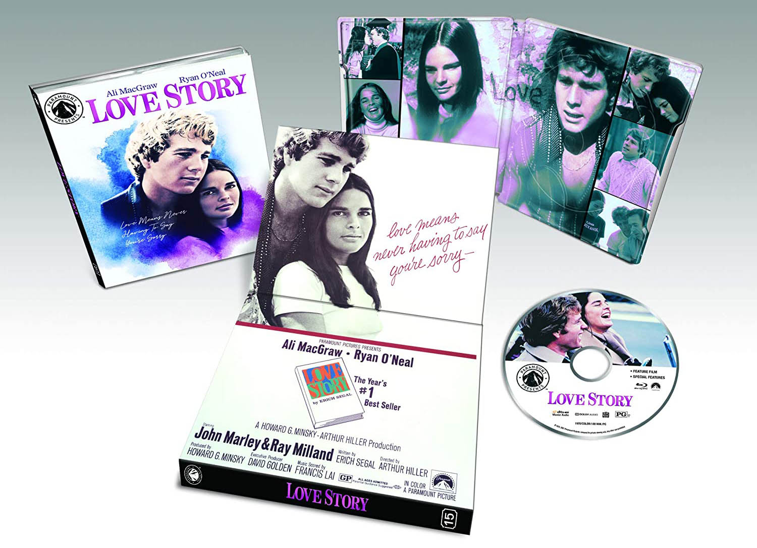 Love Story Blu-ray Paramout Presents 15