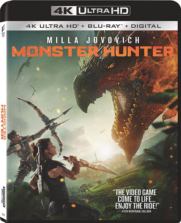 Monster Hunter 4k Blu-ray