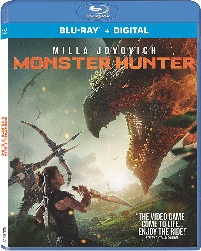 Monster Hunter Blu-ray