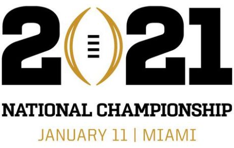 National College Football Championship 2021 logo