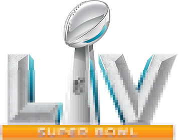 Super Bowl LV logo mosaic 3