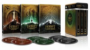 The Hobbit The Motion Picture Trilogy 4k Blu-ray Best Buy SteelBook lrg