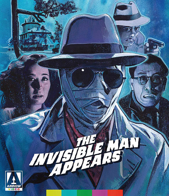 The Invisible Man Appears & The Invisible Man Vs. The Human Fly Blu-ray