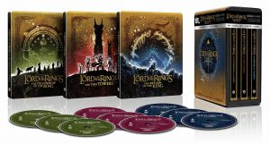 The Lord of the Rings The Motion Picture Trilogy 4k Blu-ray Best Buy