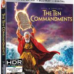 The Ten Commandments (1956) releasing to 4k Blu-ray w/Dolby Vision