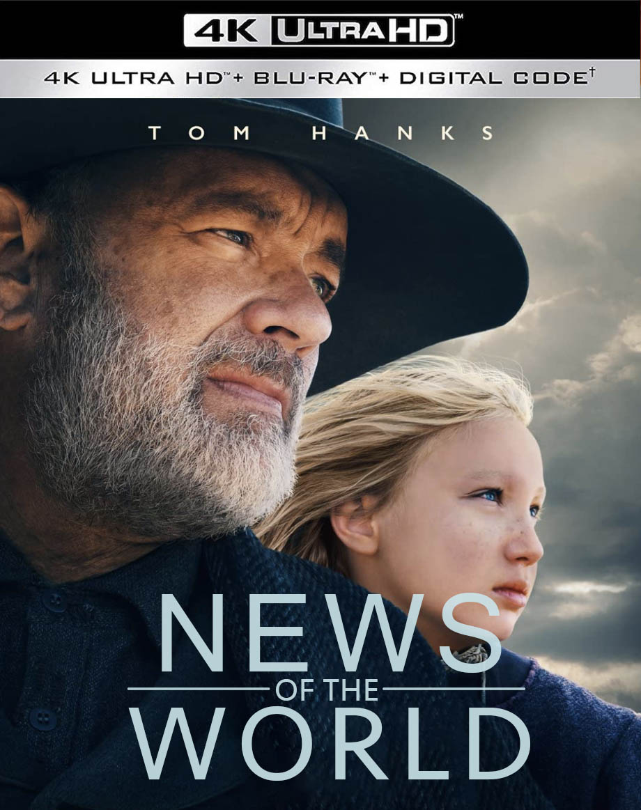 """News of the World"" on 4k Blu-ray"