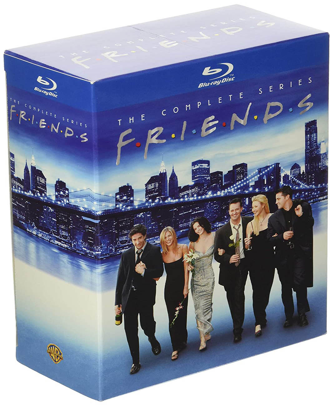 Friends- The Complete Series Blu-ray Box Set Angle