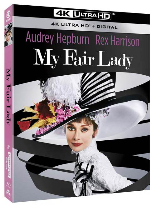 My Fair Lady 4k Ultra HD Blu-ray angle
