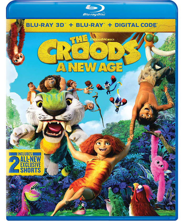 The Croods- A New Age 3D Blu-ray