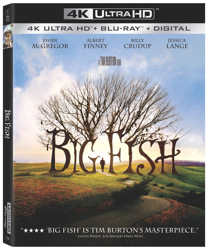 big fish 4k blu-ray