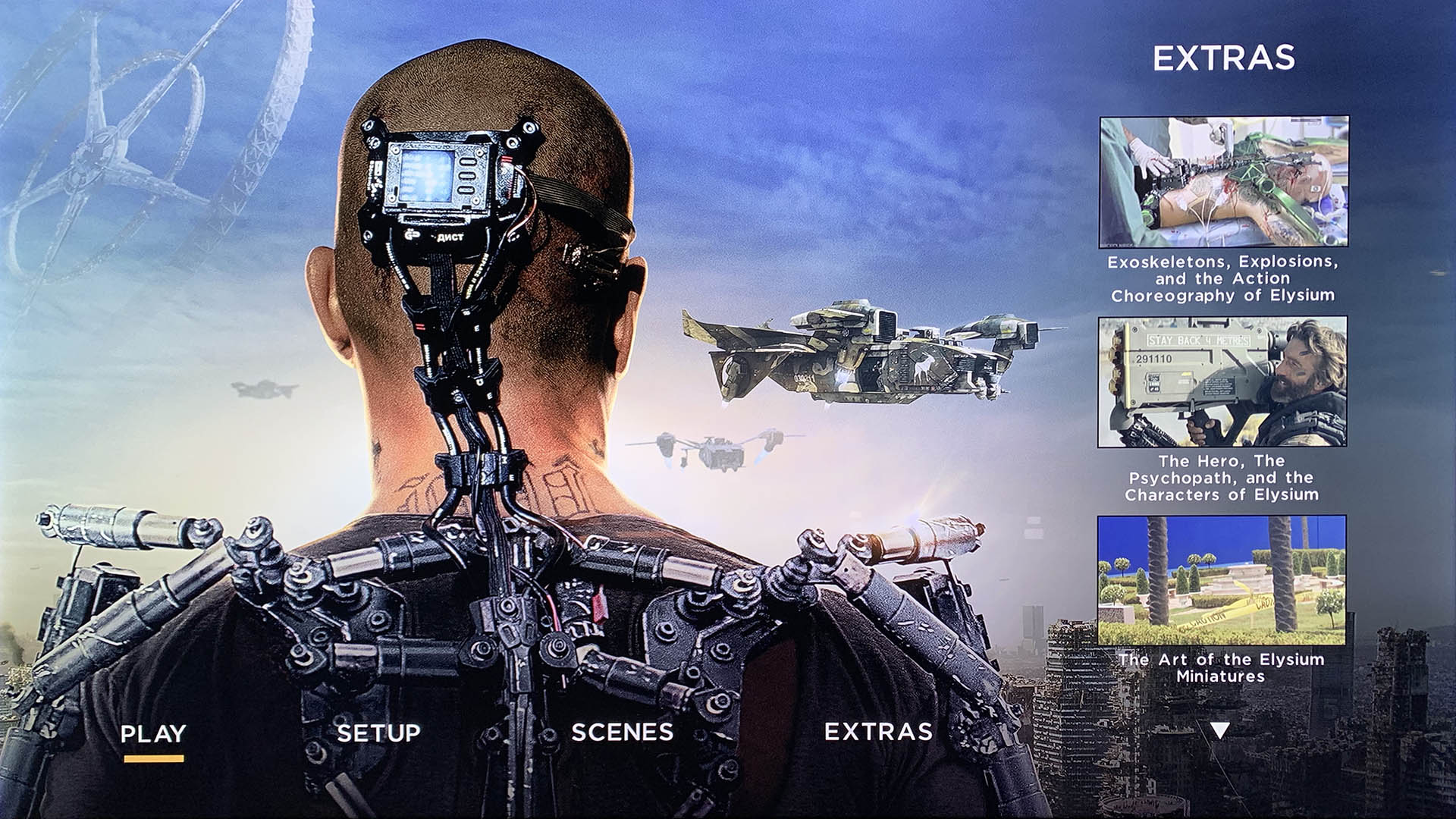 elysium 4k Blu-ray movie still