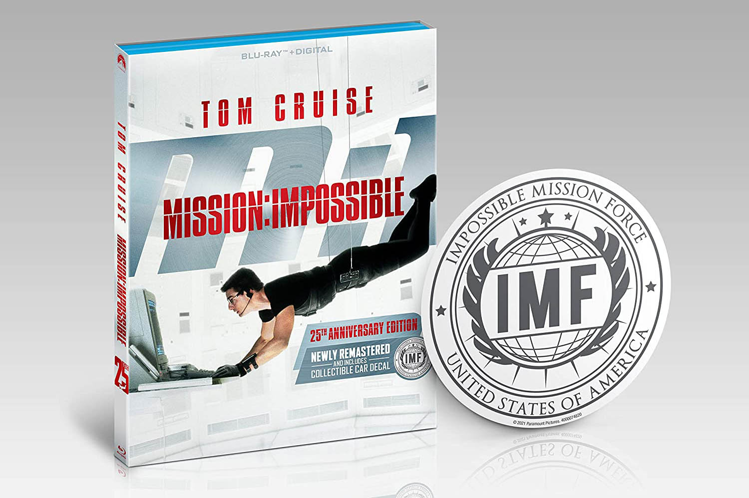 Mission Impossible 25th Anniversary Limited Edition IMF decal