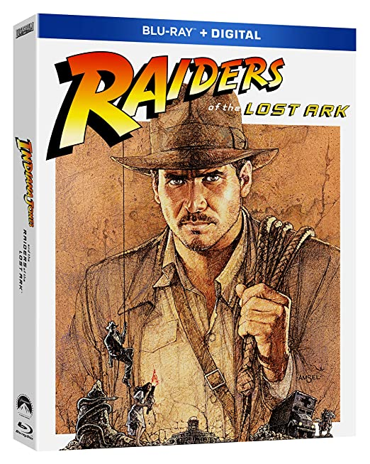Raiders of the Lost Ark Blu-ray Remastered 2021