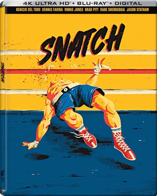 Snatch 4k Blu-ray SteelBook
