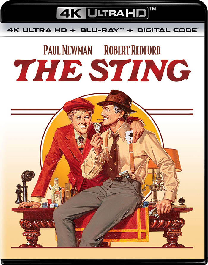 The Sting 4k Blu-ray