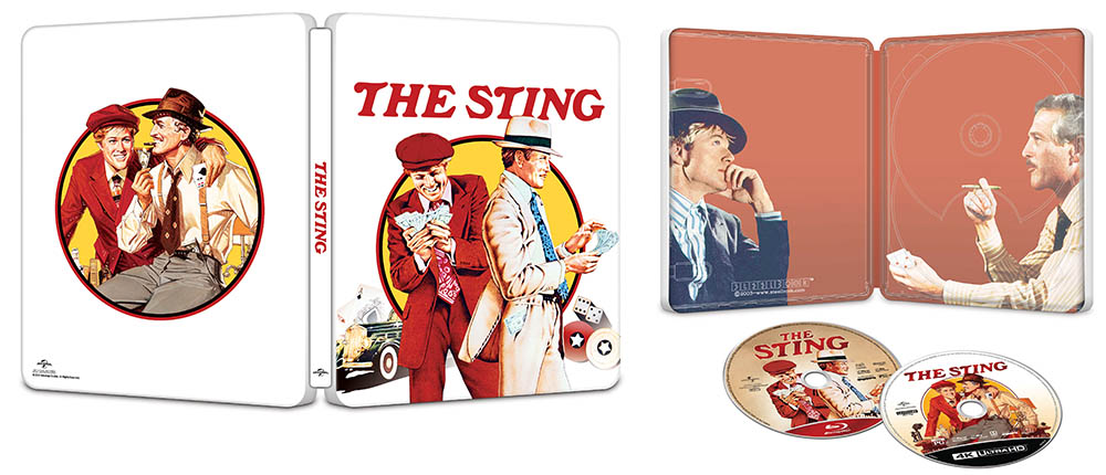 The Sting 4k SteelBook 1000px open
