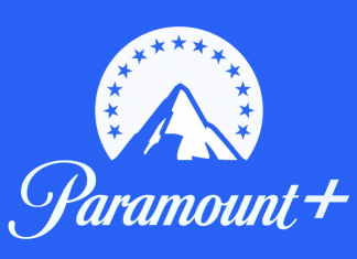 paramount plus logo on blue