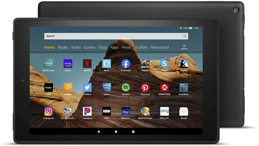 Fire HD 10 Tablet stacked