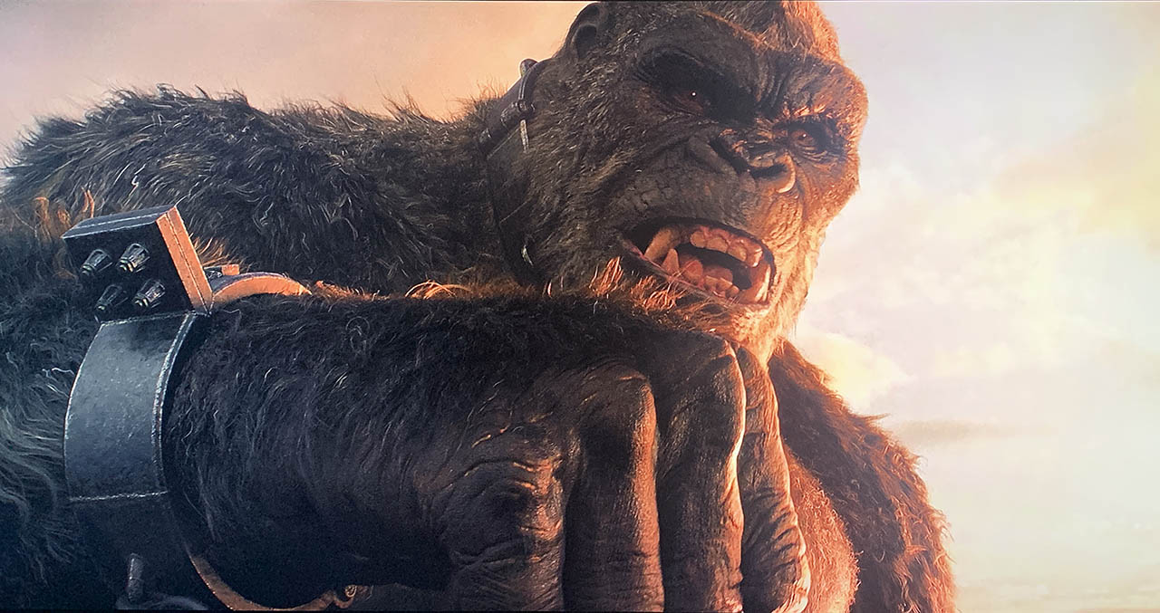 Godzilla vs Kong 4k movie still