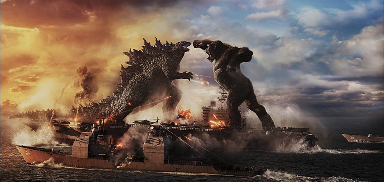 Godzilla vs Kong movie still