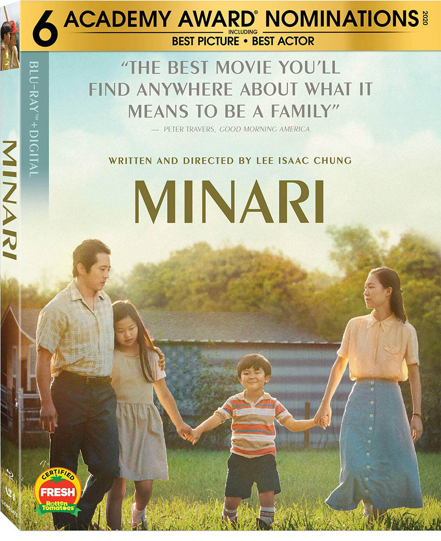 Minari Blu-ray Disc