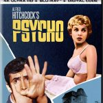 Psycho (1960) releasing to new 4k Blu-ray editions