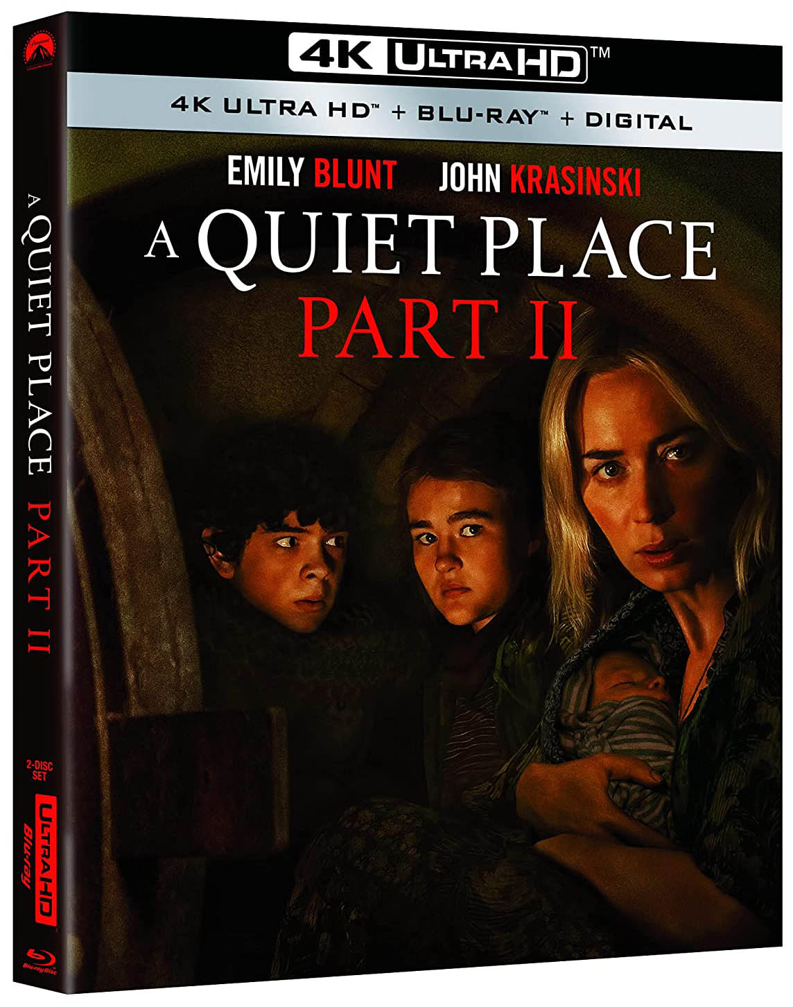 A Quiet Place Part II 4k Blu-ray