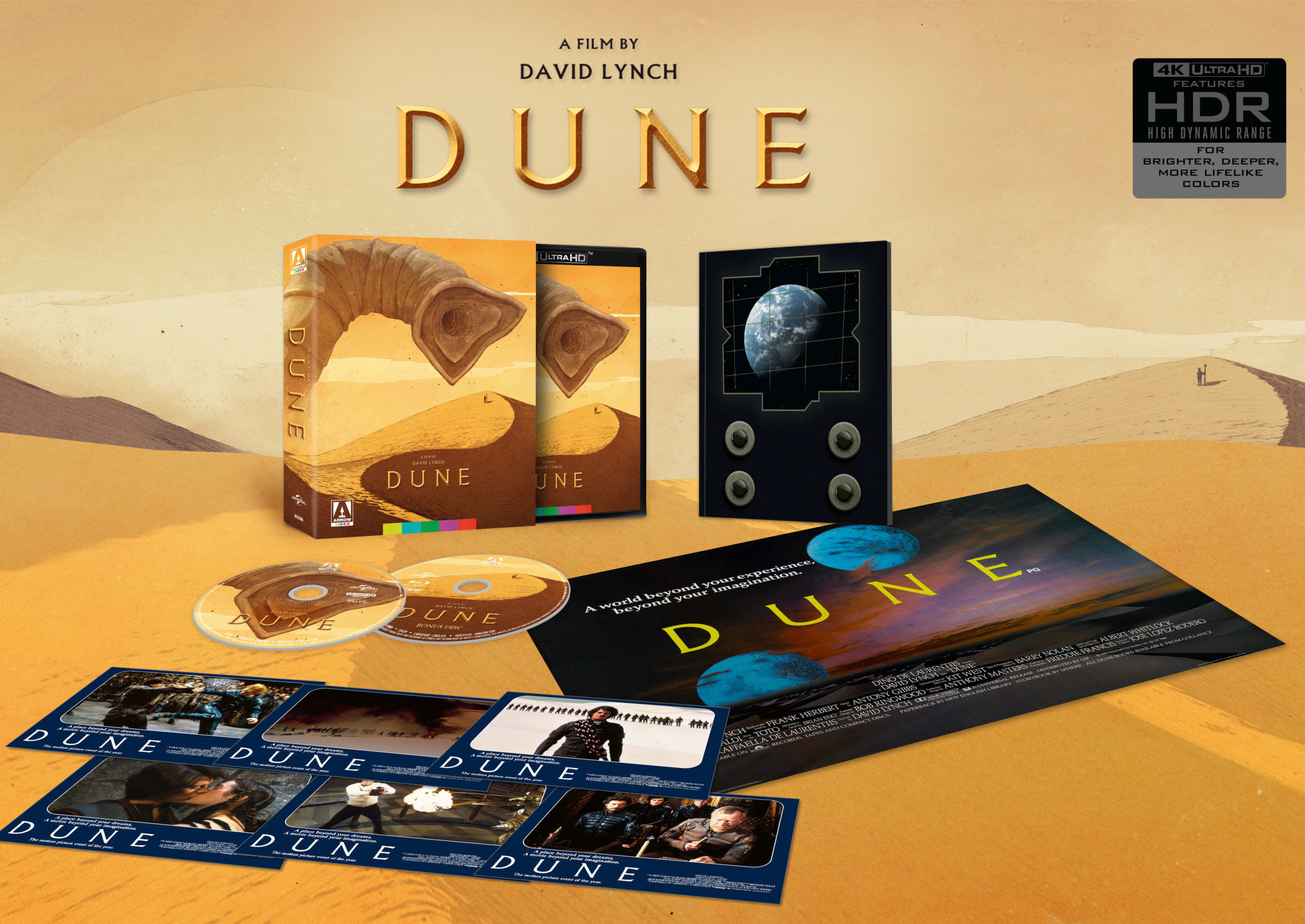 Dune 1984 Limited Edition 4k Blu-ray open