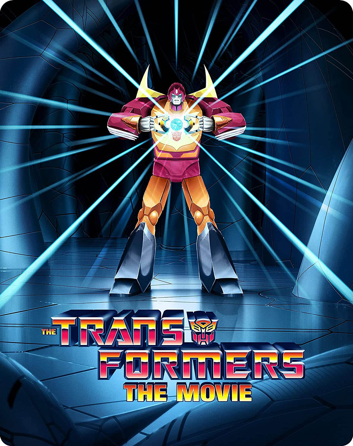 The Transformers-The Movie 35th Anniversary Limited Edition 4k Steelbook front
