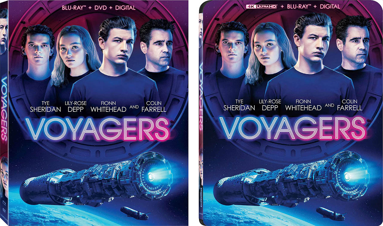 Voyagers Blu-ray 4k Blu-ray combos 2up