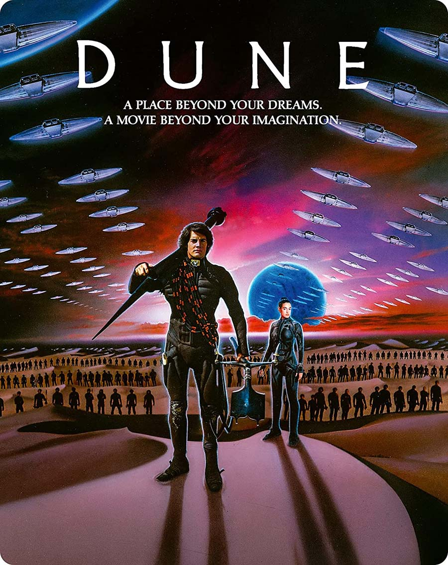 Dune 3-Disc Limited Edition Steelbook front