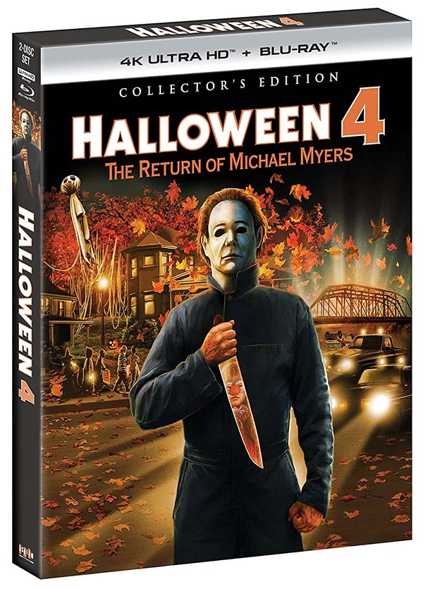 Halloween 4- The Return of Michael Myers Collectors Edition 4k Blu-ray 600