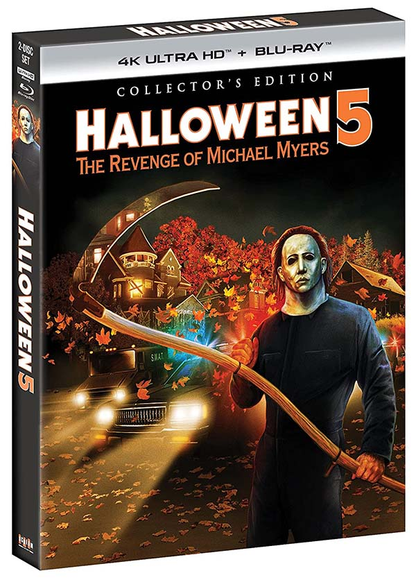 Halloween 5- The Revenge of Michael Myers - Collectors Edition 4k Blu-ray 600