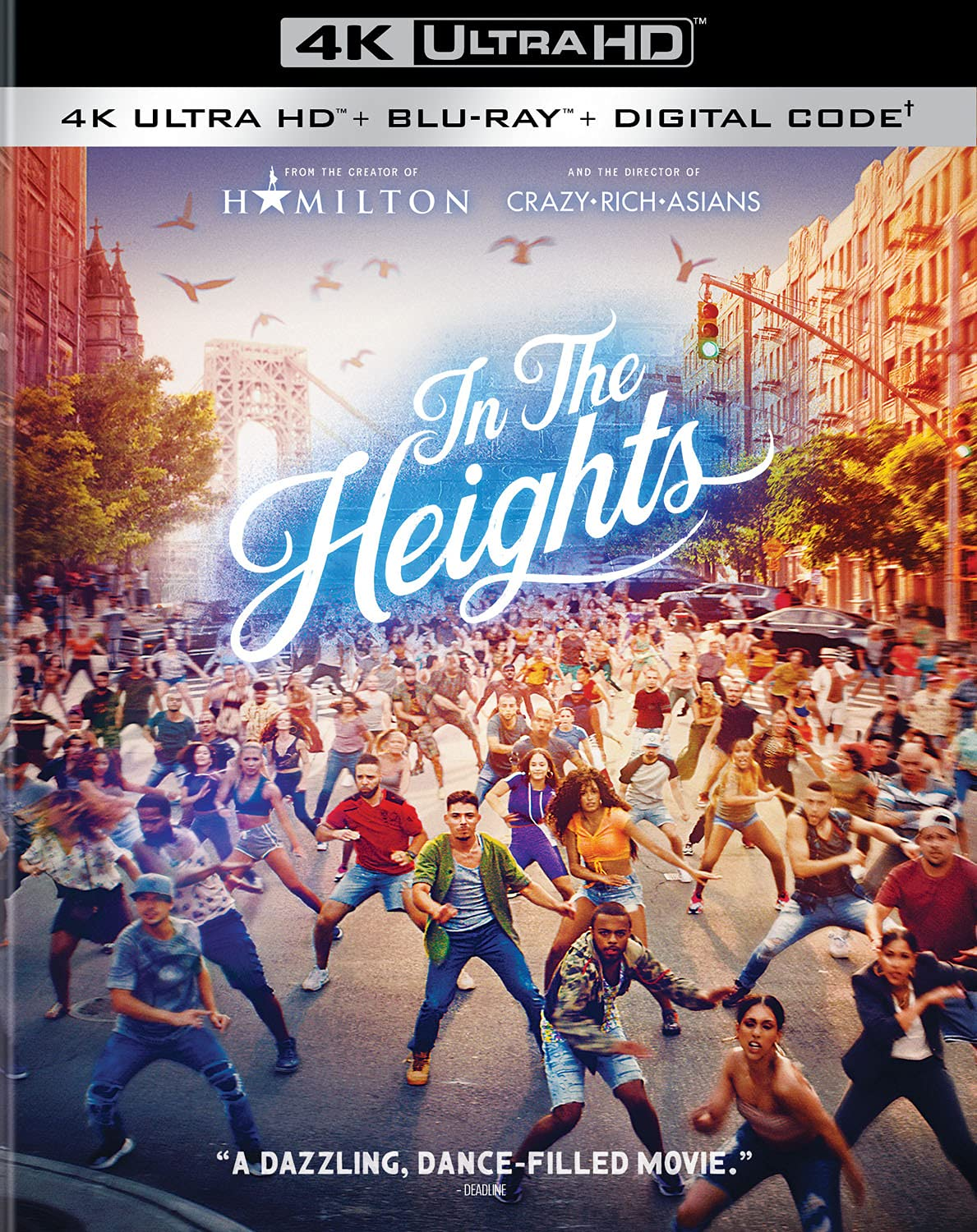 In the Heights 4k Blu-ray