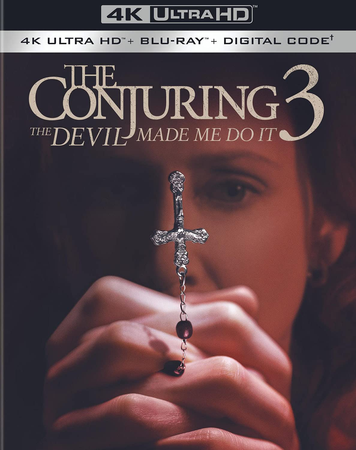 The Conjuring- The Devil Made Me Do It 4k Blu-ray