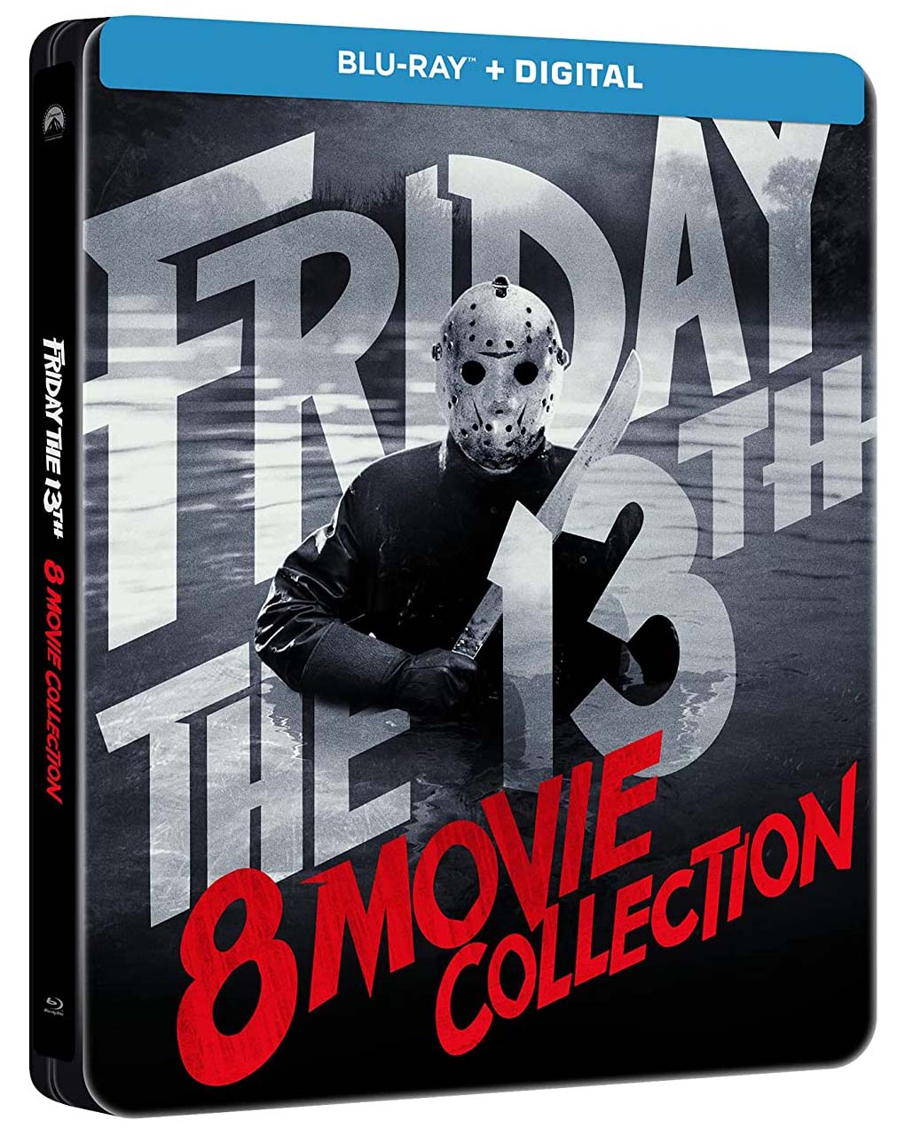 Friday the 13th 8-Movie Collection SteelBook angle