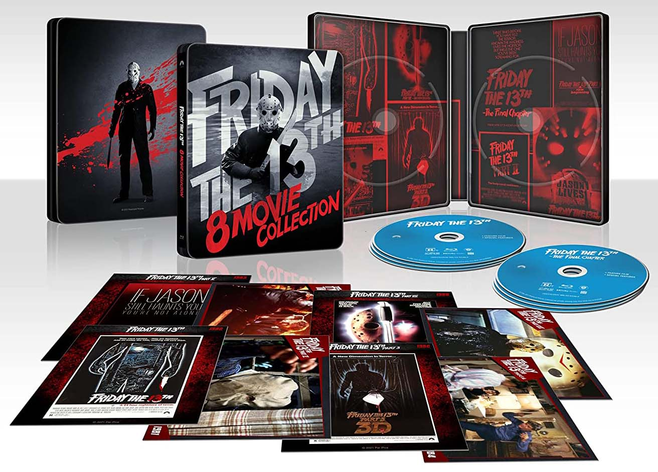 Friday the 13th 8-Movie Collection SteelBook