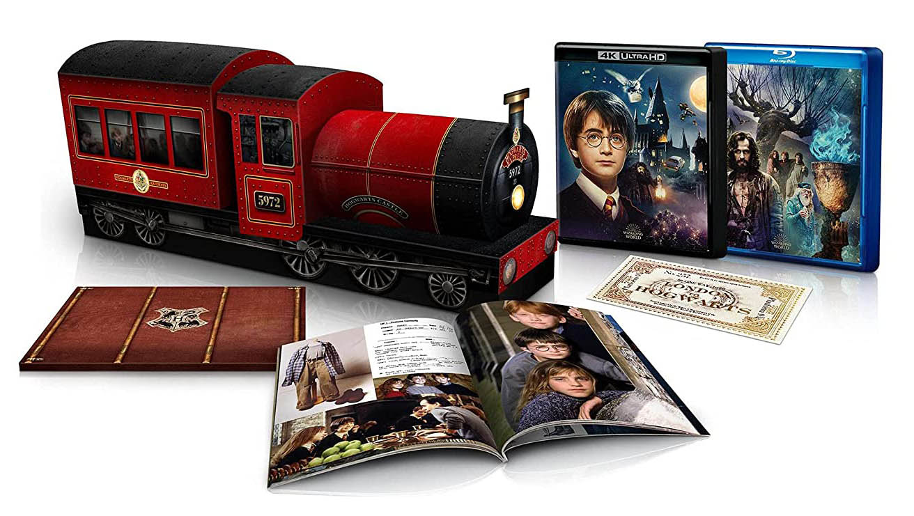 Harry Potter and the Sorcerer's Stone Anniversary 8-Film Collectors Edition 4k Blu-ray open