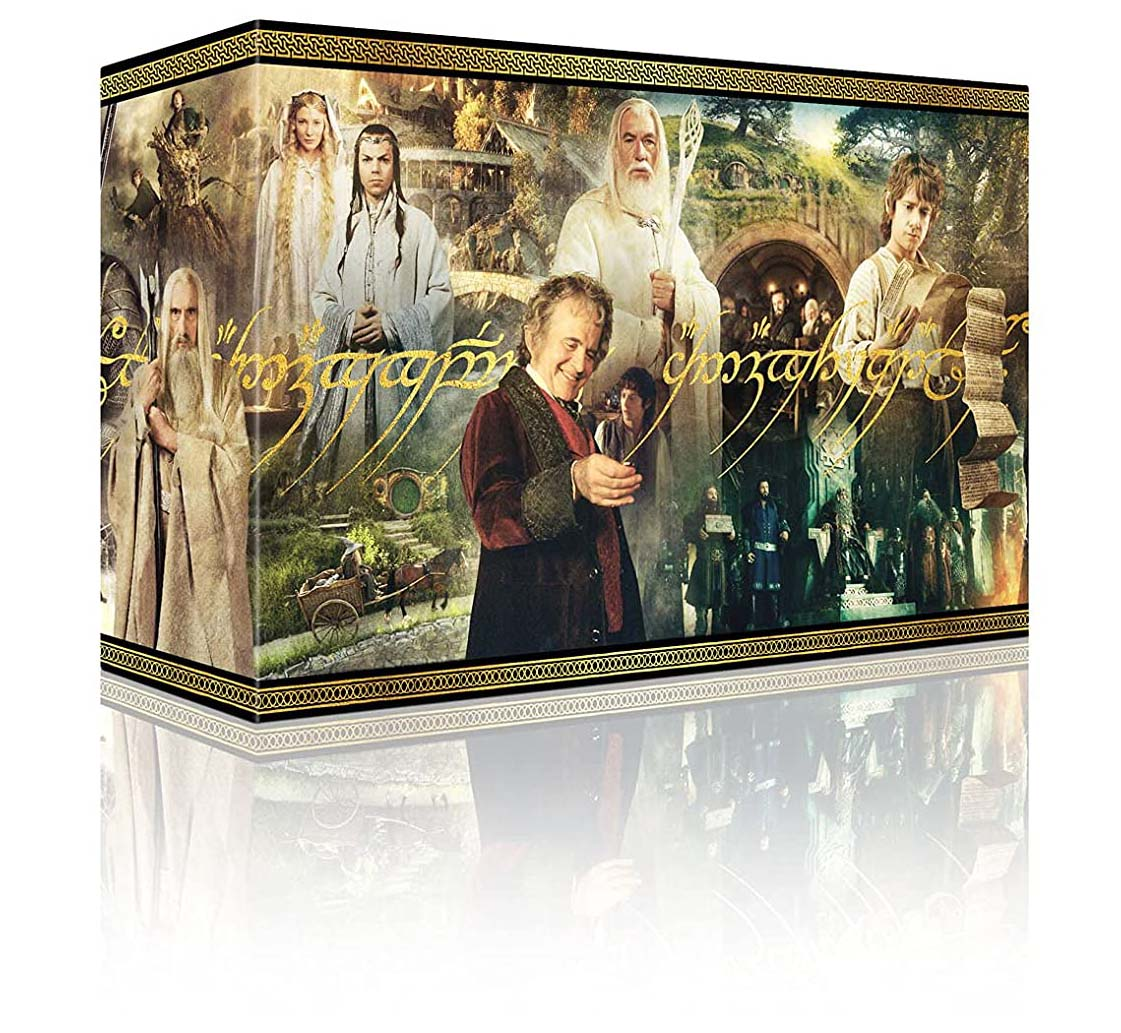 Middle Earth 6-Film Ultimate Collector's Edition 4k Blu-ray box angle
