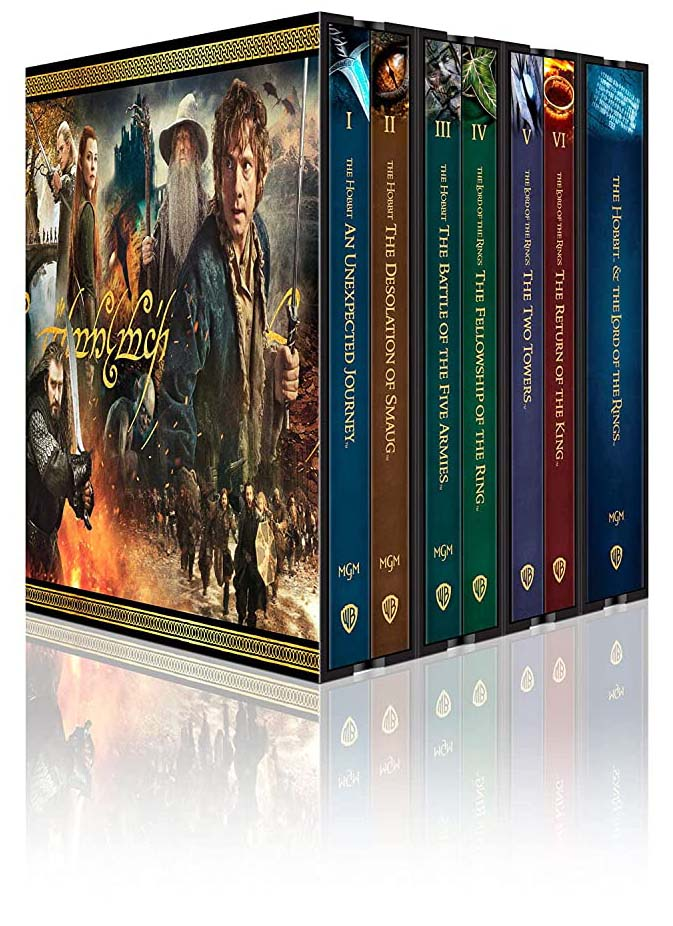 Middle Earth 6-Film Ultimate Collector's Edition 4k Blu-ray box