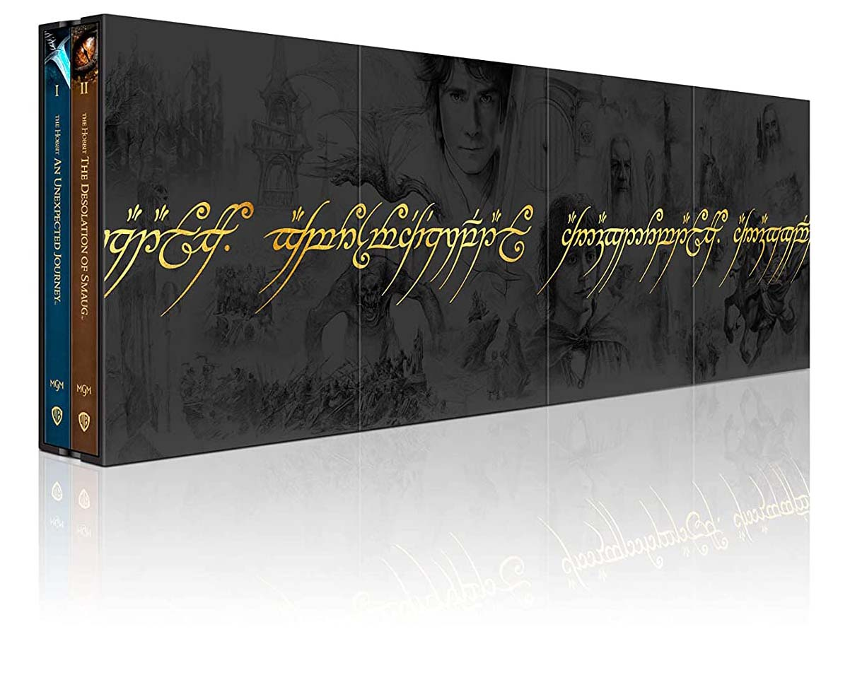 Middle Earth 6-Film Ultimate Collector's Edition 4k Blu-ray long view
