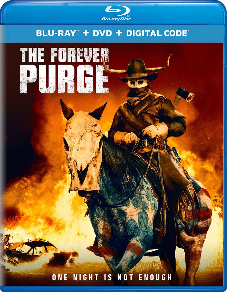 The Forever Purge Blu-ray