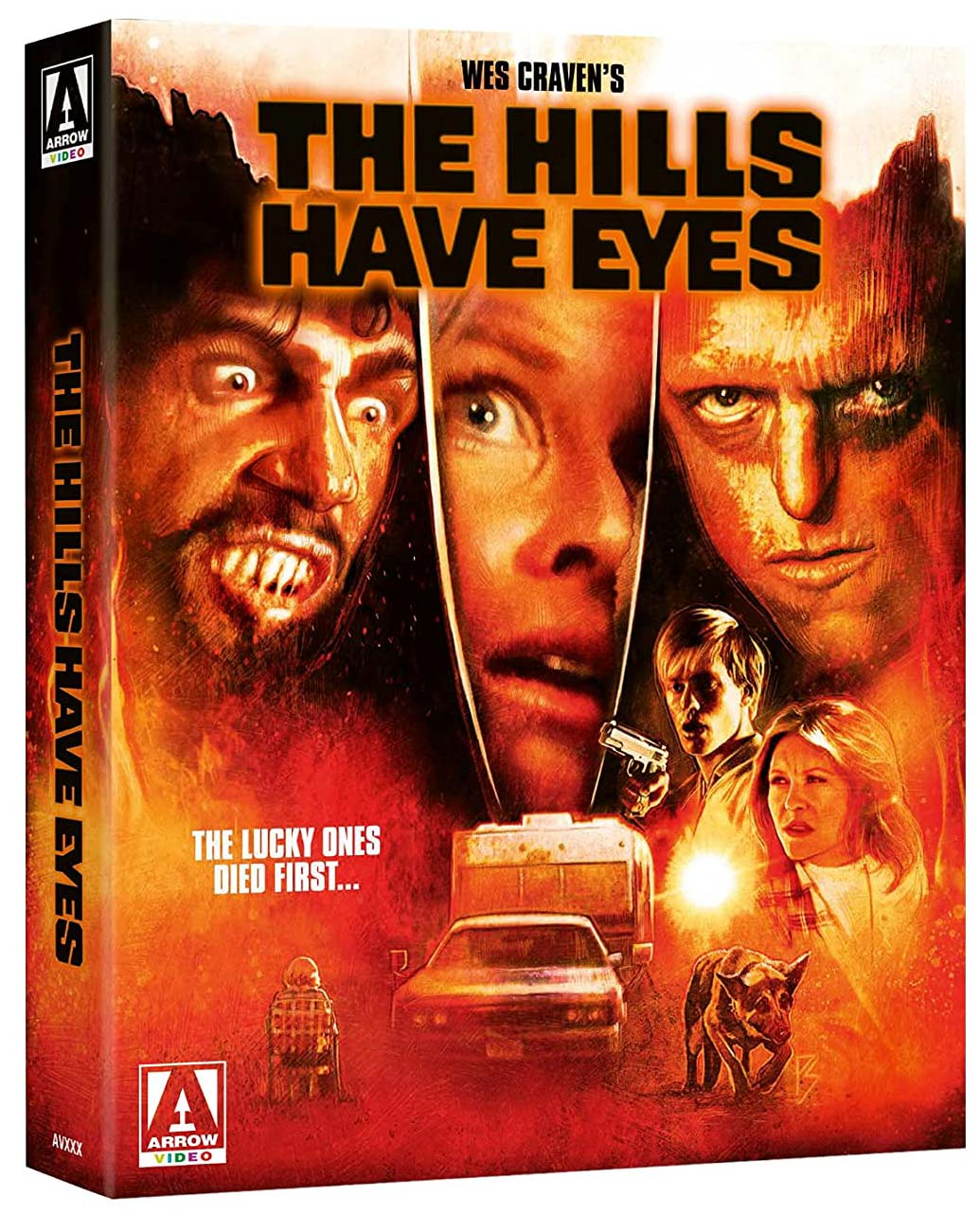 The Hills Have Eyes 4k Blu-ray Limited Edition
