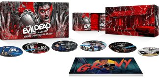 The Evil Dead- Groovy Collection 4K UHD Blu-ray open
