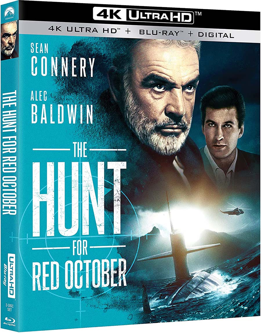 """The Hunt For Red October 4k Blu-ray """"plastic case edition"""""""