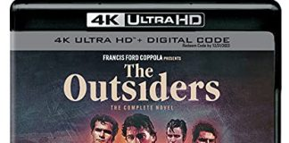 The Outsiders The Compete Novel 4k Blu-ray