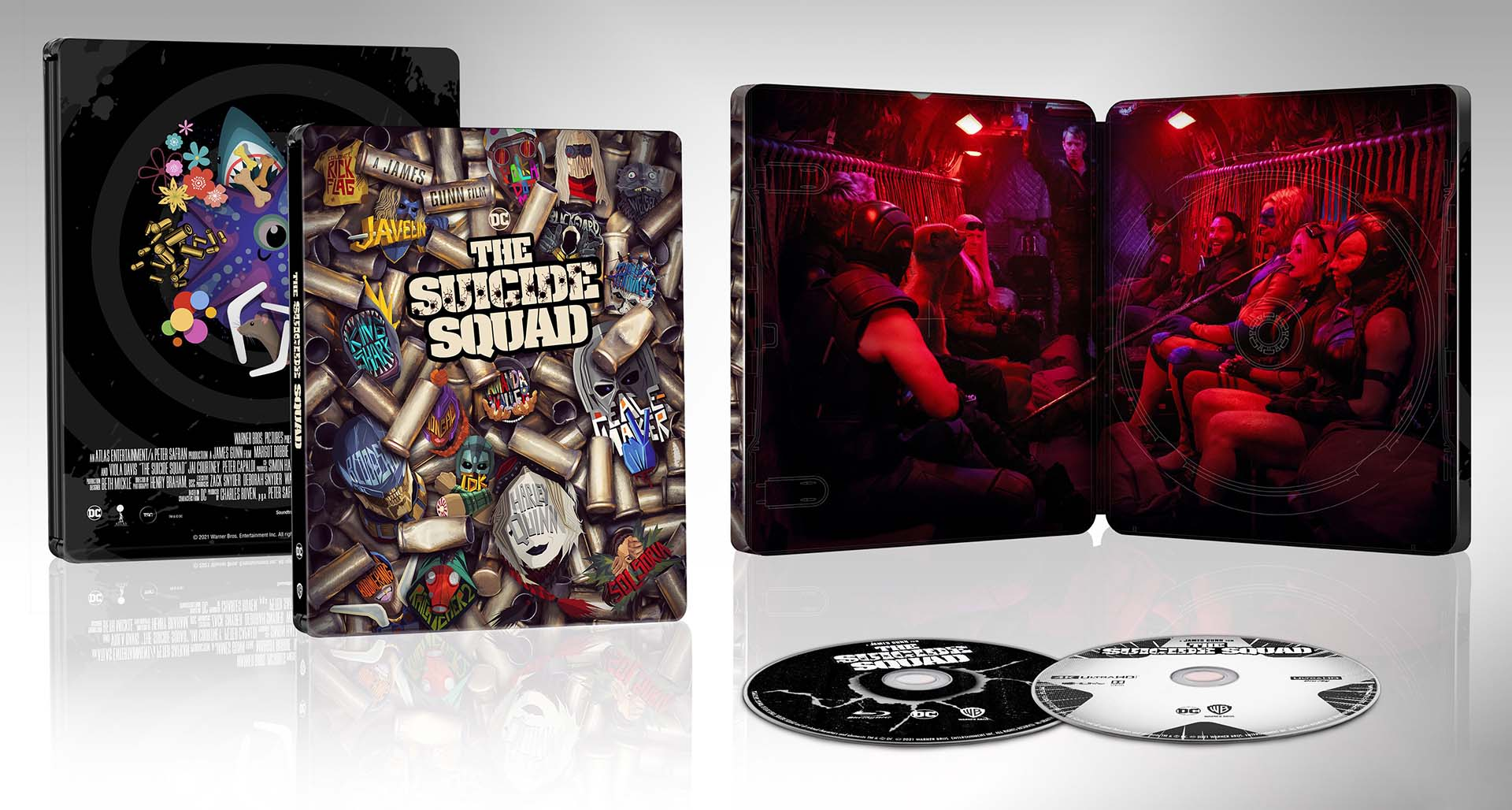 The Suicide Squad 4k Blu-ray SteelBook 1920