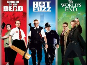 Shaun of the Dead, Hot Fuzz, & The World's End bundled on 4k Blu-ray w/Dolby Vision & HDR10+
